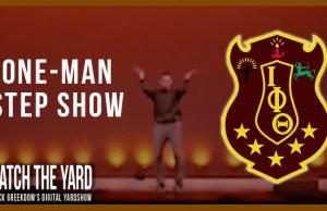 one man iota step show