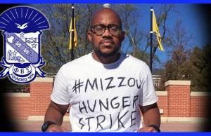 hunger strike mizzou phi beta sigma jonathan butler