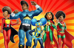 carribean superhero