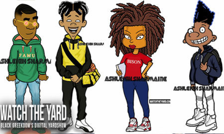 hbcu cartoon characters