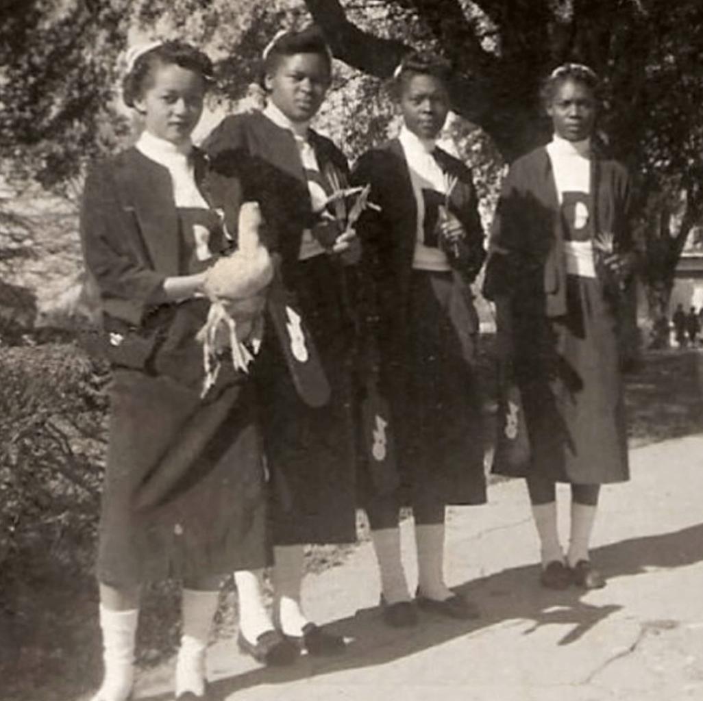 Delta Rho Chapter of Delta Sigma Theta , Albany State University, 1953.