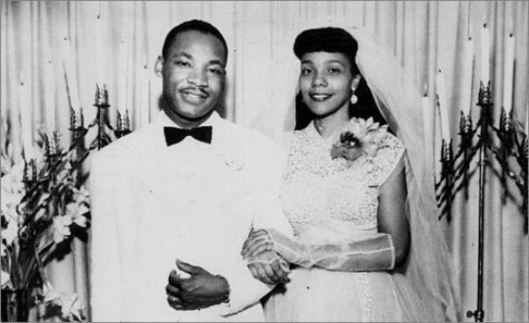 Dr. MLK Jr., married his wife Corretta Scott King in 1953, just a year after crossing Alpha.