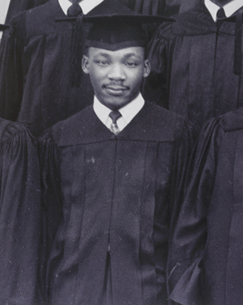 Picture from Dr. King's graduation from Morehouse