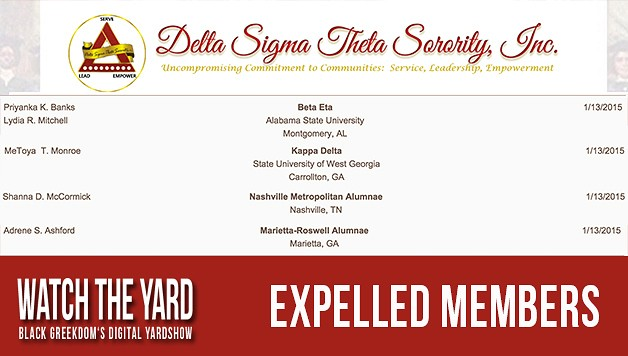 Delta Sigma Theta Expels Five Members Who Participated In VH1's