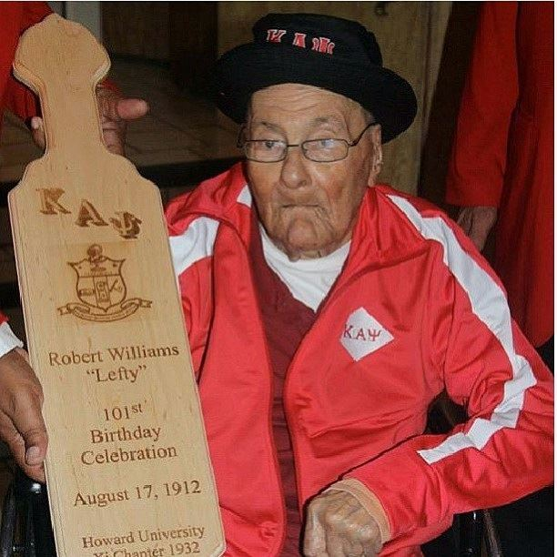 Howard Grad And Oldest Living Member Of Kappa Alpha Psi