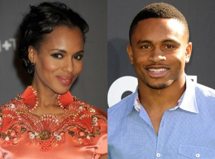 kerry-washington-nnamdi-asomugha-2013-newsone