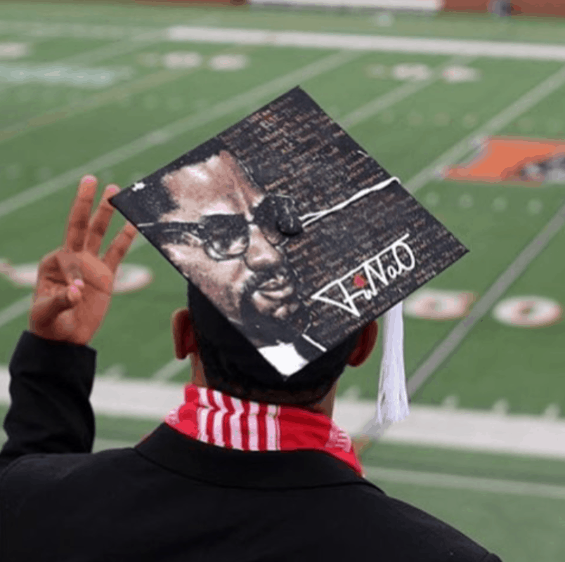 15 of the best diy graduation cap ideas for black fraternity and