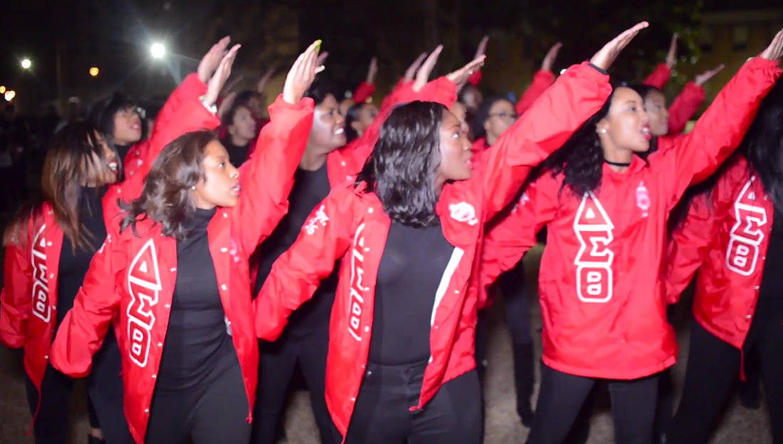 Slay This Is How The Ladies Of Delta Sigma Theta Do It At Hampton