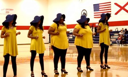 SGRhos Reveal New Members at the University of South Alabama